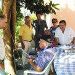 Joaquim Barbosa, campanha do candidato da CDU a Gondomar / Foto de Pedro Santos Ferreira