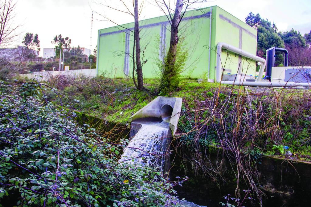 Descargas no rio Tinto / Foto: Direitos Reservados