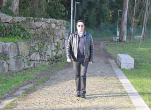 Nelo Silva, músico riotintense / Foto: Ricardo Vieira Caldas