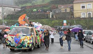 Desfile de Carnaval em S. Pedro da Cova / Foto: Pedro Santos Ferreira