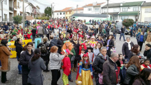 Desfile de Carnaval em Baguim do Monte / Direitos Reservados