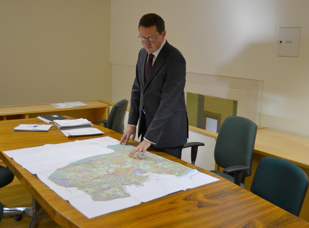 Luís Filipe Araújo está atento a todo o processo de revisão do PDM para Gondomar / Foto: Pedro Santos Ferreira