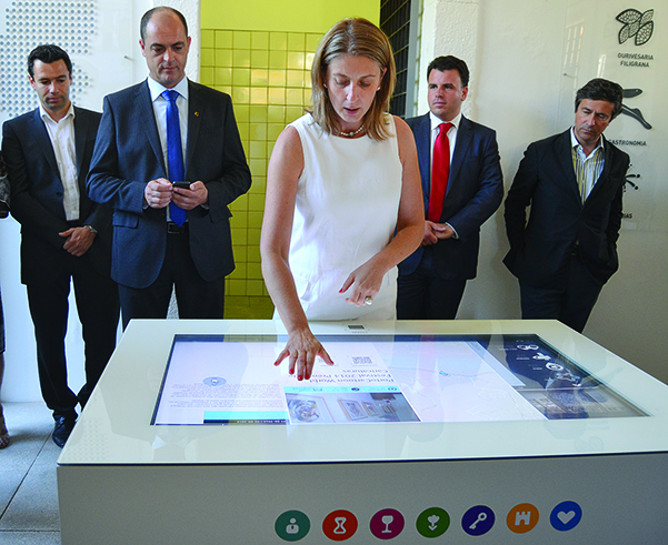 Inauguração da Loja Interativa de Turismo de Gondomar / Foto: Ricardo Vieira Caldas
