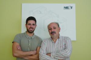 André Correia, gestor da empresa, e António Correia, fundador ( Foto: Ricardo Vieira Caldas