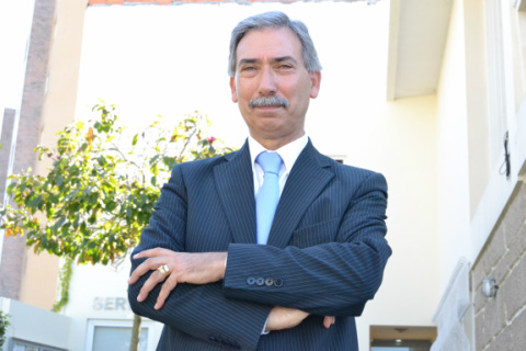 José António Macedo, presidente da União das Freguesias de Gondomar (S. Cosme), Valbom e Jovim / Foto: Ricardo Vieira Caldas