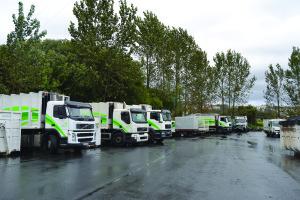 A Rede Ambiente tem uma frota de camiões renovada / Foto: Ricardo Vieira Caldas