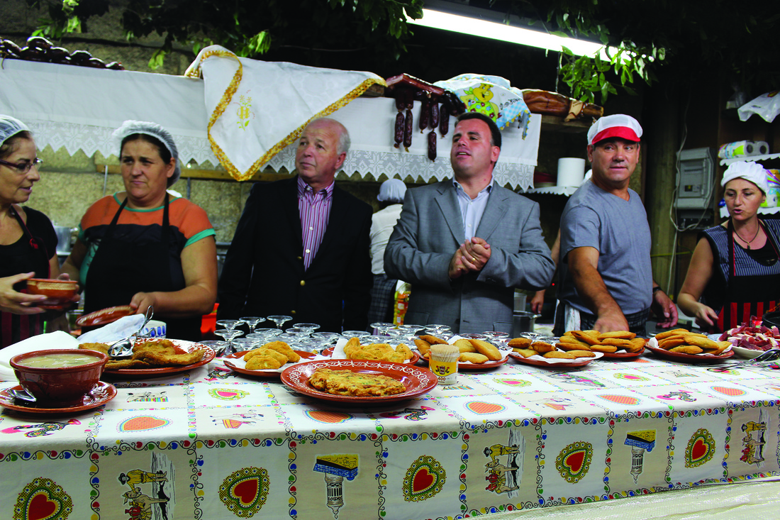 Manuel Pinto e Marco Martins inauguraram a XVI Feira das Tasquinhas / Foto: Pedro Santos Ferreira