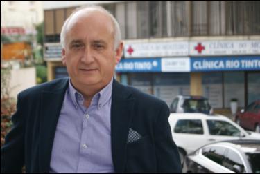 Paulo Amado, médico ortopedista / Foto: Ricardo Vieira Caldas
