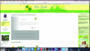 Site atual da Junta de Rio Tinto