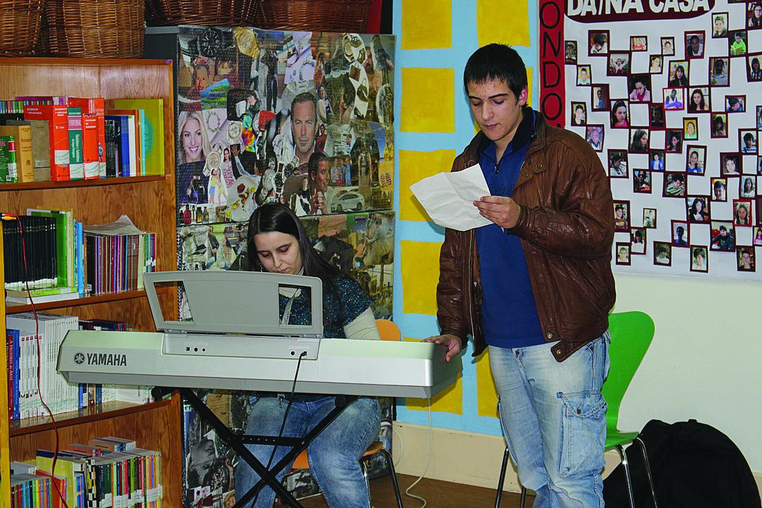 A comemoração foi animada e contou com a declamação de um poema de Álvaro de Campos / Foto: Pedro Santos Ferreira