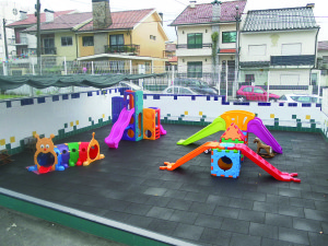 O Centro Social Soutelo pretendia inaugurar um parque infatil / Foto: José Pedro Oliveira