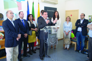 Marco Martins inaugurou a Casa da Juventude de S. Pedro da Cova / Foto: Pedro Santos Ferreira