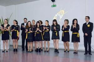 A equipa do Rotas D'Ouro apresentou-se publicamente no CINDOR / Foto: Pedro Santos Ferreira