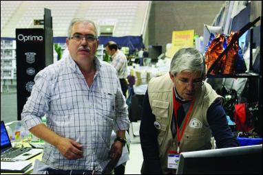 Amílcar Dias (à esq.) é o principal responsável pelo evento / Foto: Pedro Santos Ferreira