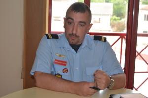 Gonçalves Costa, Adjunto de Comando dos BVG / Foto de Ricardo Vieira Caldas