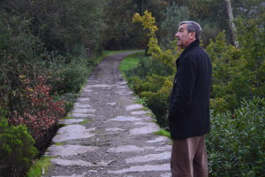 Isidro Sousa no Caminho de Midões / Foto: Arquivo Vivacidade