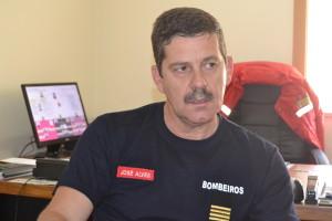 Comandante José Alves, Bombeiros Voluntários de Valbom / Foto de Ricardo Vieira Caldas