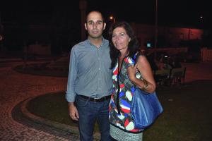 Pedro Filipe Soares e Ana Paula Canotilho  / Foto de Ricardo Vieira Caldas