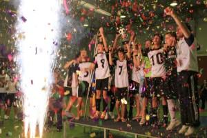 Equipa vencedora do III Torneio Manolito / Direitos Reservados