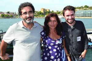 Eduardo Pereira, Ana Paula Canotilho e José Soeiro / Foto de Ricardo Vieira Caldas