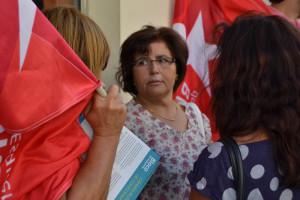 Ana Paula Canotilho percorre ruas de S. Cosme / Foto de Ricardo Vieira Caldas