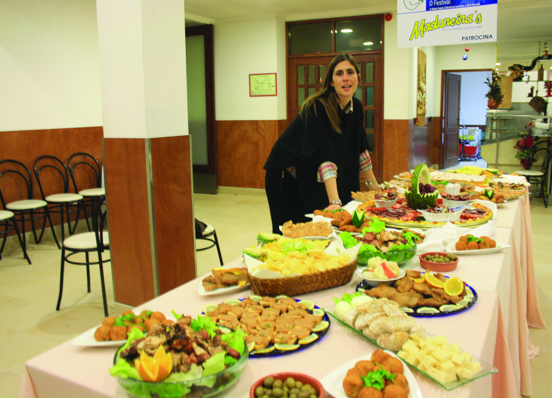 O evento na Paróquia de Rio Tinto contou com um jantar para os convidados / Direitos Reservados