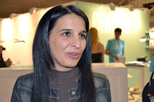 Na foto: Eunice Neves, diretora do CINDOR / Na foto: Pedro Santos Ferreira