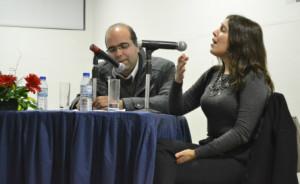 Ana Bacalhau cantou a pedido do público / Foto: Pedro Santos Ferreira