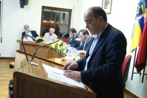 Jorge Pina assumiu a presidência do clube riotintense / Foto: Ricardo Vieira Caldas