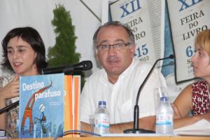 Carlos Alberto, pai de André Silva, apresentou o livro / Direitos Reservados