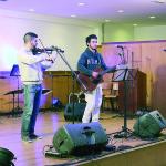 O auditório da Escola Profissional de Gondomar teve sala lotada para assistir ao espetáculo musical / Foto: Pedro Santos Ferreira