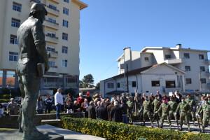 Homenagem aos Combatentes da Guerra do Ultramar, em Fânzeres / Foto: Ricardo Vieira Caldas