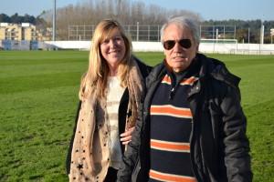 A entrevista realizou-se no estádio Cidade de Rio Tinto / Foto: Ricardo Vieira Caldas