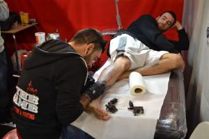 Tatuagens e tatuadores estiveram em destaque no Oporto Tattoo / Foto: Ricardo Vieira Caldas