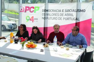 Almoço do 94.º aniversário do PCP, em Rio Tinto / Foto: Pedro Santos Ferreira