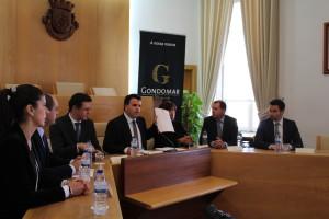 Conferência de Imprensa do executivo municipal de Gondomar / Foto: Ricardo Vieira Caldas