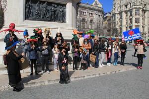 Arruada dos alunos e professores no Porto / Direitos Reservados