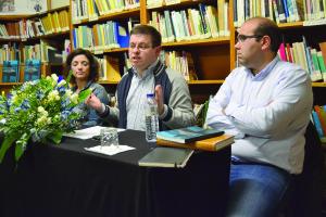 Andreia Pinto, Miguel Correia e Daniel Vieira