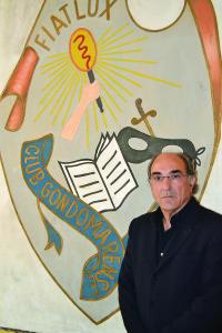 Manuel Rosas, presidente do Clube Gondomarense