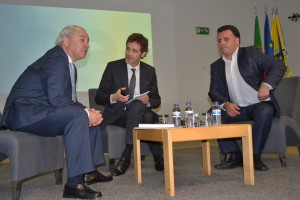 Na foto: Rui Rio, Domingos Andrade, Marco Martins