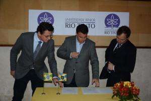Assinatura de comodato da Universidade Sénior de Rio Tinto / Direitos Reservados
