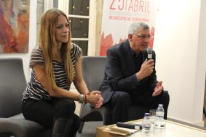 Conversas de Abril com Joana Amaral Dias / Foto: Ricardo Vieira Caldas