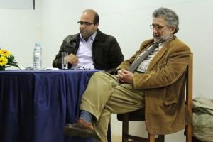 Daniel Vieira e José Barata Moura / Foto: Ricardo Vieira Caldas