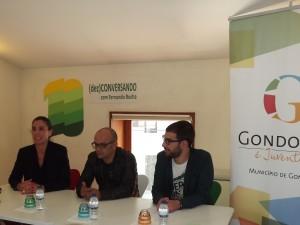 Sandra Brandão, Fernando Rocha e Ricardo Vieira Caldas