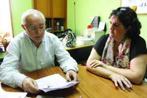 Na foto:José Ricardo, coordenador, e Sandra Felgueiras, presidente do Centro Social de Soutelo
