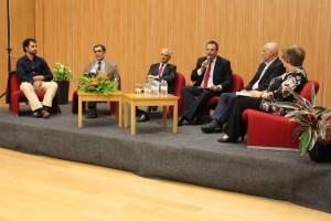 Diogo Augusto, Luís Rothes, José Ferreira Gomes, José Ângelo Pinto, José Ascensão, e Luísa Pereira/Foto: Ricardo Vieira Caldas
