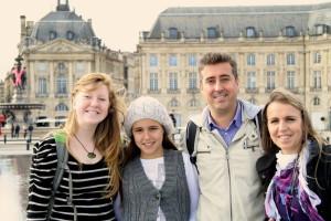 A família Araújo, do Porto, acolheu em 2013 uma estudante da Nova Zelândia/ Foto: Direitos Reservados
