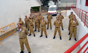 A Delegação de gondomar estava instalada na Junta de Baguim
