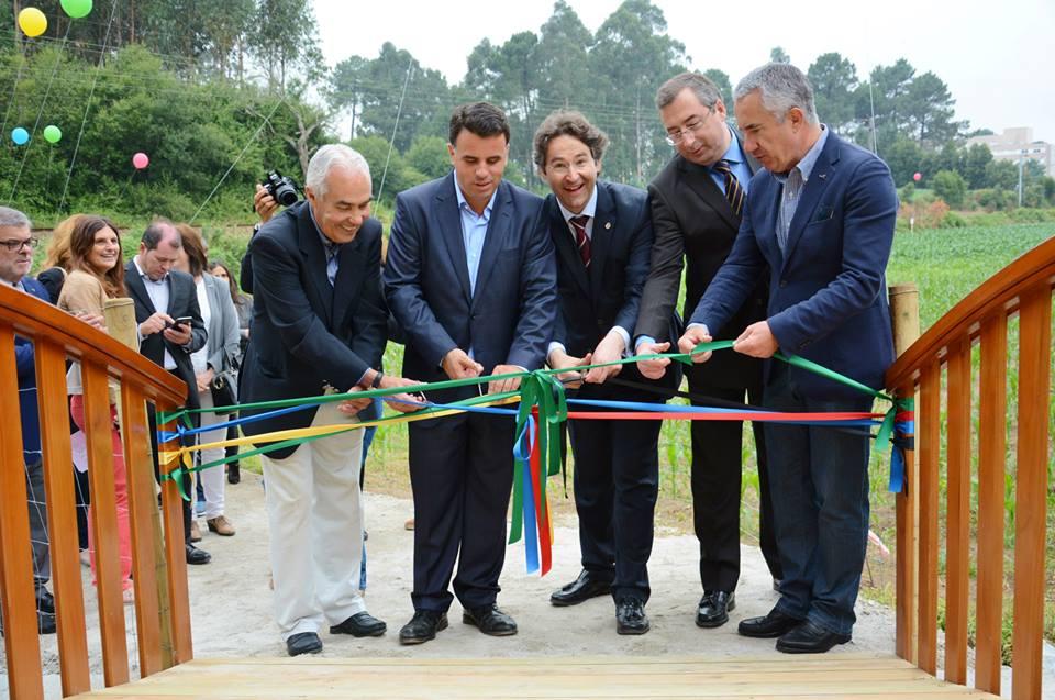 Inauguração do percurso pedonal ao Parque Aventura / Foto: Rita Lopes