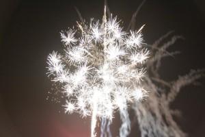 Fogo de artifício das Festas de S. Bento das Peras e S. Cristóvão / Direitos Reservados